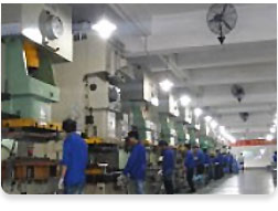 Stamping production workshop