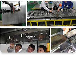 Mold assembly plant
